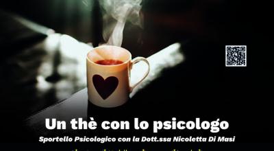 """Avvio iniziativa """"Un thè con lo psicologo"""""""